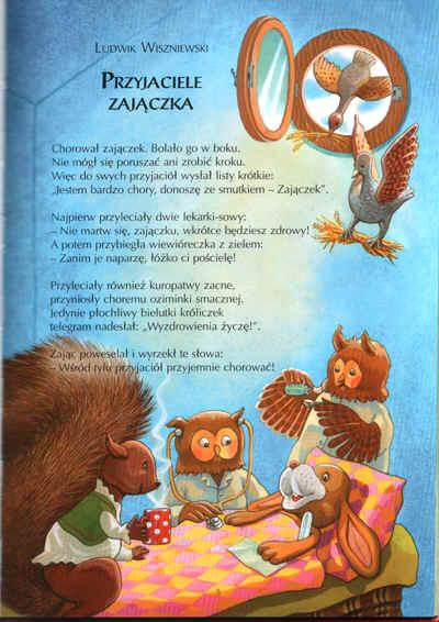 Wiersz Przyjaciel Zajączka Autorstwa Ludwika Wiszniewskiego